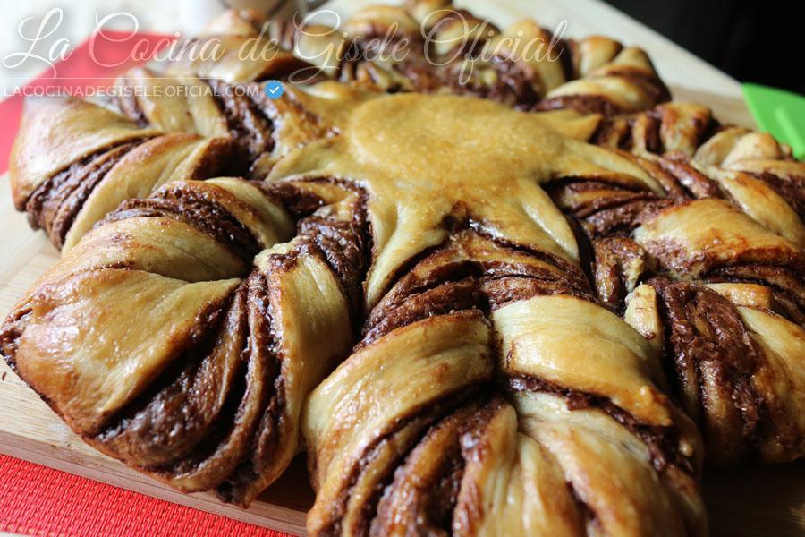 Pan Estrella de Nutella