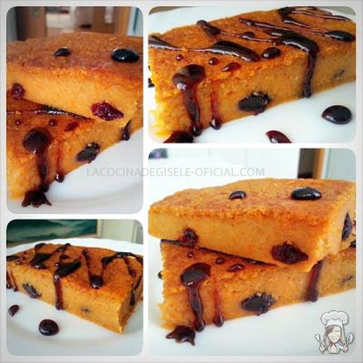 Torta de auyama tipo quesillo gisele